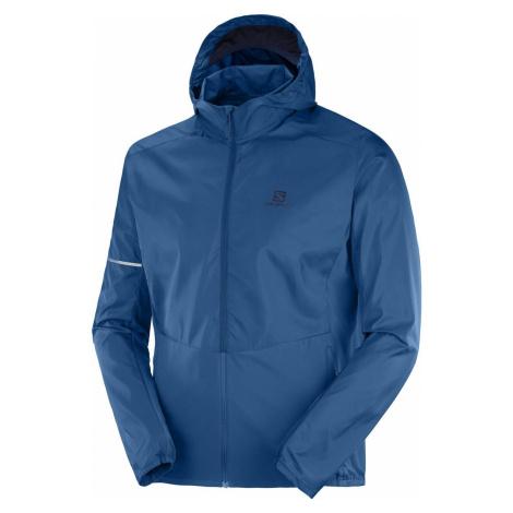 alomon pánská bunda Agile FZ Hoodie modrá Salomon