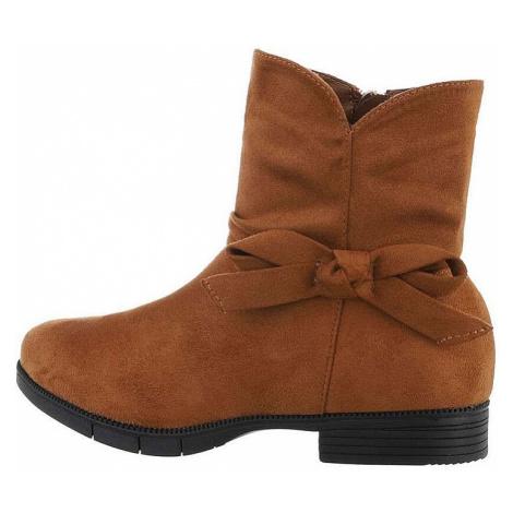 Dívčí elegantní kotníkové boty