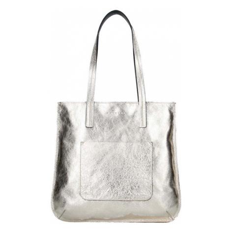 Dámská kožená kabelka Facebag Greta - zlatá