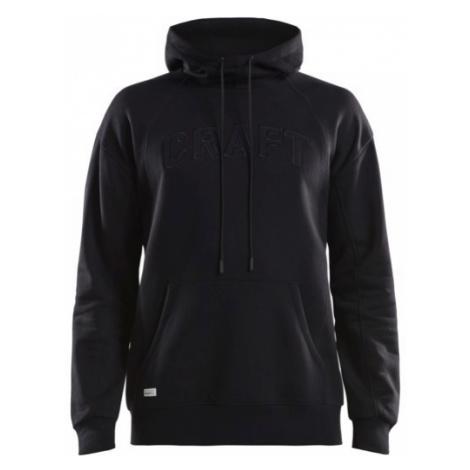 Pánská mikina CRAFT Overhead Logo Hoody černá