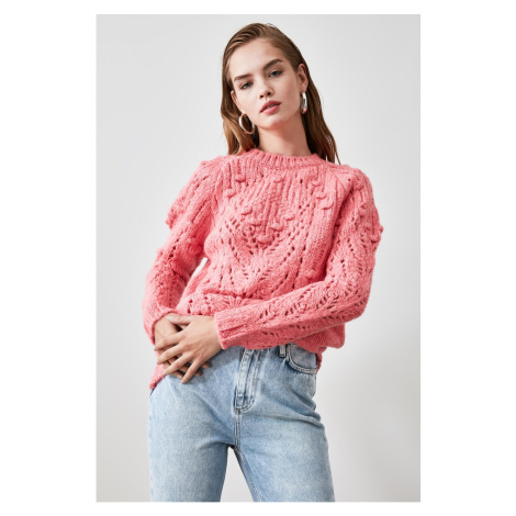 Trendyol Powder Edifying Knit Sweater