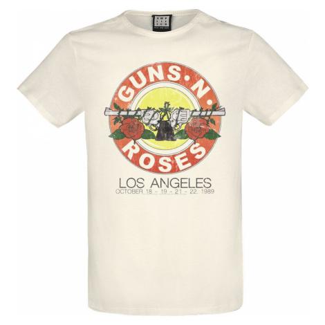 Guns N' Roses Amplified Collection - Vintage Bullet Tričko šedobílá