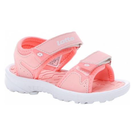Lotto LAS ROCHAS IV INF růžová - Dětské sandály