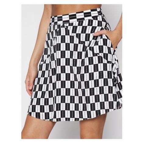 Calvin Klein Calvin Klein dámská černo-bílá sukně CHECKER BOARD PRINT SKIRT