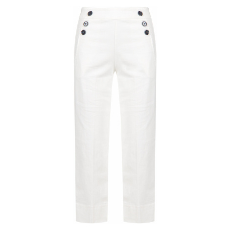 Kalhoty Deha EXPRESSION bílá