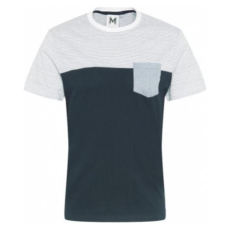 Hailys Men Tričko 'Eduardo' námořnická modř / bílá / opálová Haily´s