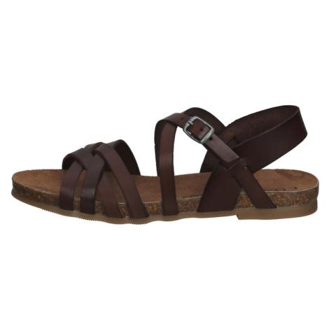 COSMOS COMFORT Páskové sandály hnědá