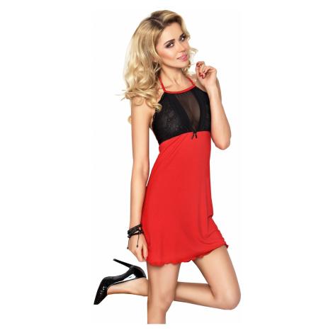 Erotická košilka Carina red DKaren