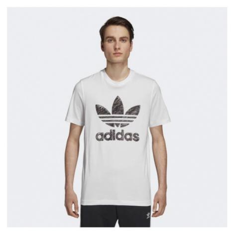 Tričko Adidas Hand Drawn T1 White