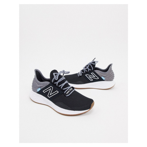 New Balance freshfoam trail roav trainers in black