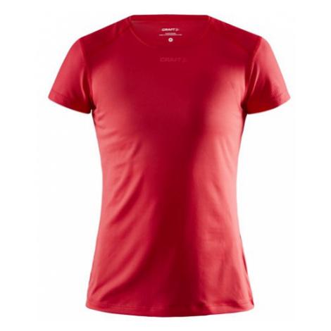 Dámské tričko CRAFT ADV Essence Slim SS červená
