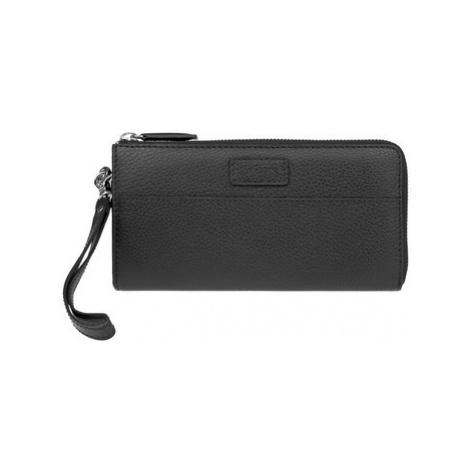 Lagen 11228 černá dámská kožená peněženka Černá