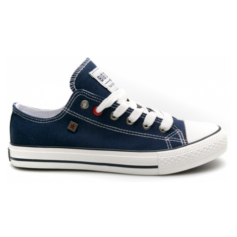 Big Star Woman's Sneakers 203161 Navy Blue-477