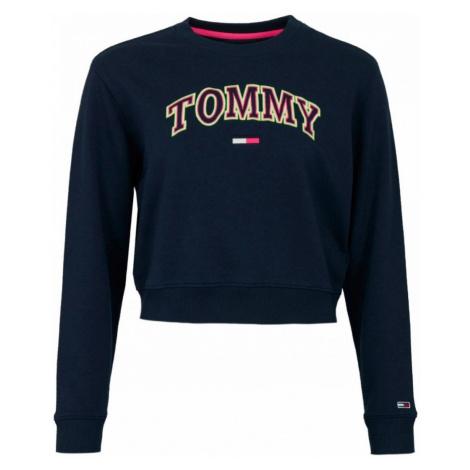 Tommy Hilfiger Tommy Jeans tmavě modrá krátká mikina