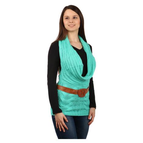Dámská pletená vesta