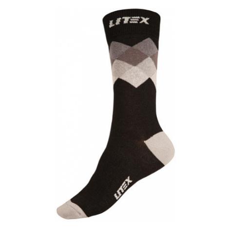 Designové ponožky Litex 9A018   šedá