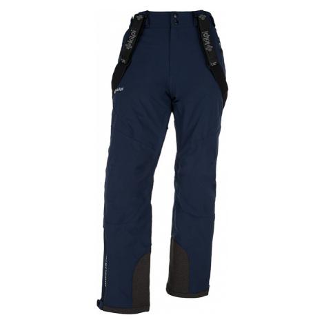 Pánské zimní lyžařské kalhoty KILPI METHONE-M tmavě modrá