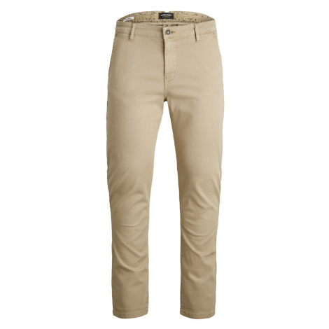 JACK & JONES Chino kalhoty 'Marco Fred' velbloudí