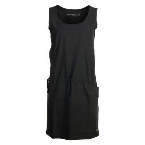 ALPINE PRO GADARA černá - Dámské šaty