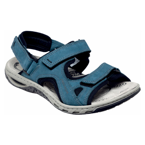 Pegada Dámská otevřená vycházková obuv Modrá