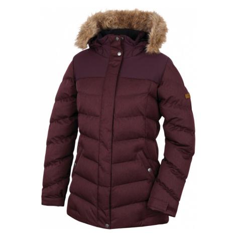 HANNAH Rheya II Dámská zimní bunda 217HH0052HJ03 Chocolate mel/fudge