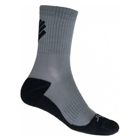 RACE MERINO Sportovní ponožky 20200064 šedá Sensor