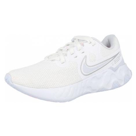 NIKE Sportovní boty bílá / světle růžová / stříbrně šedá / kouřově šedá