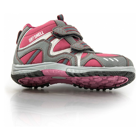 obuv softshell, Bugga, B079, červená