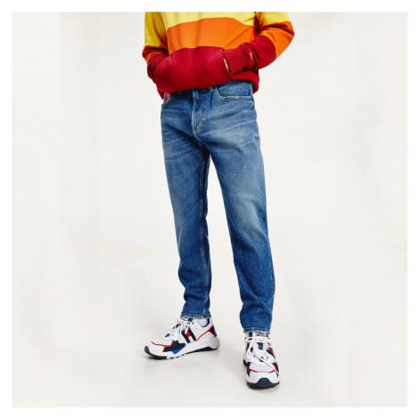 Tommy Jeans pánské modré džíny Rey Tommy Hilfiger