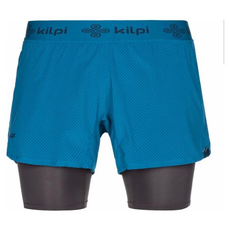 KILPI Pánské běžecké kraťasy IRAZU-M MM0075KIDBL Tmavě modrá