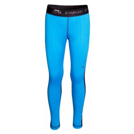 Dětské prádlo - kalhoty Alpine Pro SUSYO - modrá