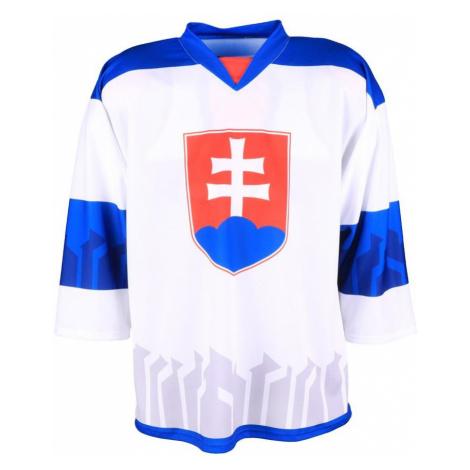 Hokejový dres Slovensko - bílý Bílá / Modrá