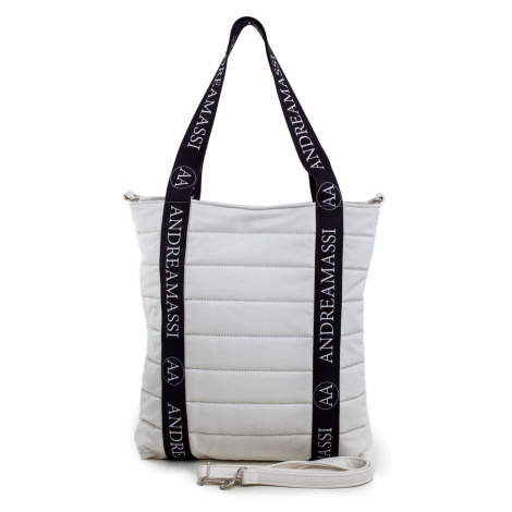 Bílá prošívaná dámská taška FPrice