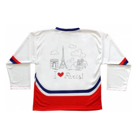 Hokejový dres ČR I Love Paris