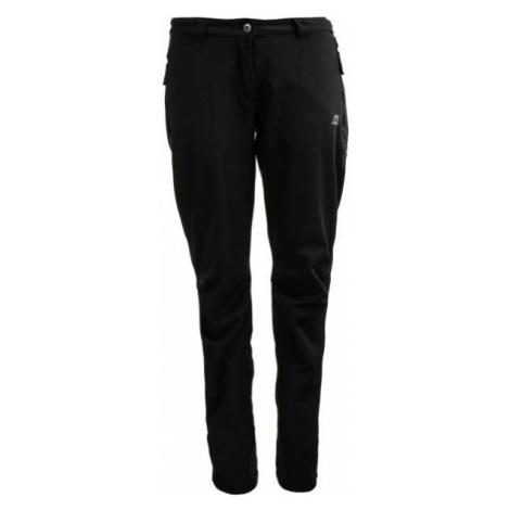 ALPINE PRO NAVA černá - Dámské softshellové kalhoty