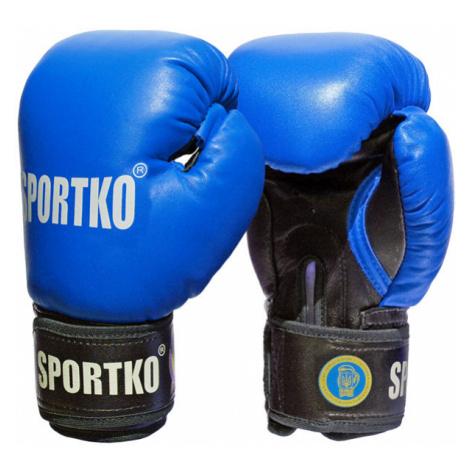 Boxerské Rukavice Sportko Pk1 Červená