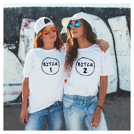 BFF trička pro nejlepší kamarádky Bitch BezvaTriko
