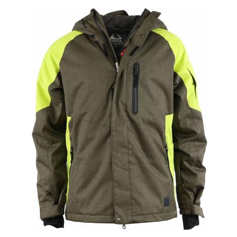 PIROL bunda pánská Gentleman Snow Golem FWM17003 zimní lyžařská péřová