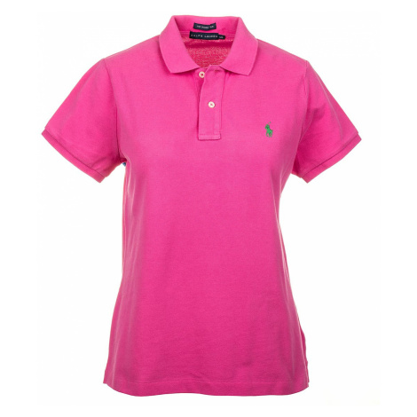 Ralph Lauren dámské polo tričko růžové