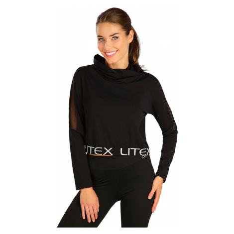 LITEX Crop top tričko 5B362901 černá