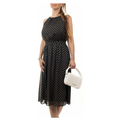 Michael Kors dámské šaty černé s kolečkama