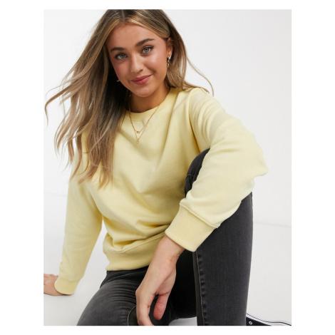 New Look sweatshirt in light yellow