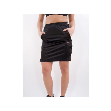 Fila Women jenna buttoned track skirt Černá