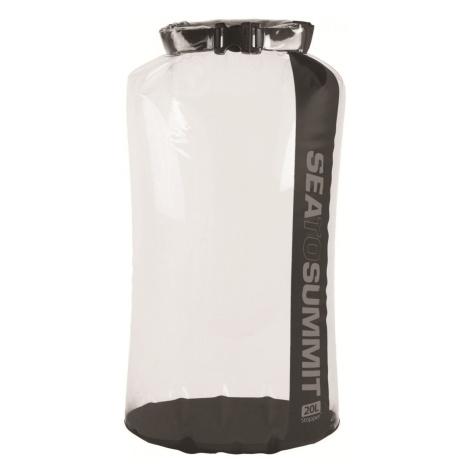 Voděodolný vak Sea to Summit Stopper Clear Dry Bag 20L Barva: černá