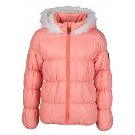 Lewro ESTER oranžová - Dívčí prošívaná bunda