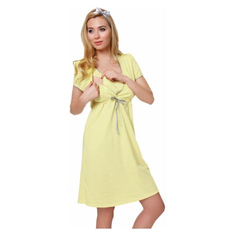 Dámská kojící košile Felicita yellow Italian Fashion