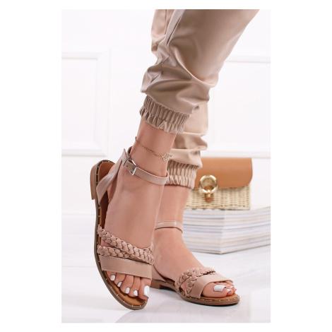 Béžové nízké sandály Jude Belle Women