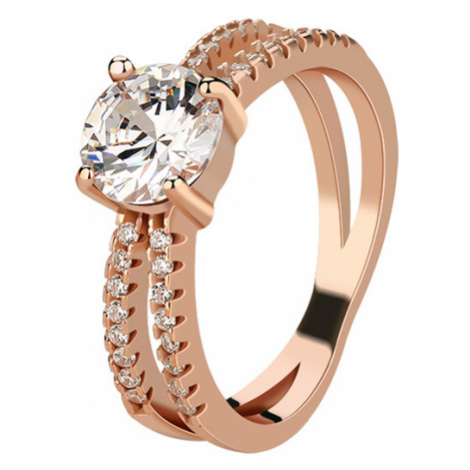 OLIVIE Stříbrný prsten ROSE 4226