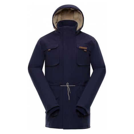 ALPINE PRO EDIT Pánský zimní kabát MCTP002602 mood indigo
