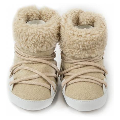 Pidilidi kojenecké capáčky zimní, Pidilidi, PD0560, béžová